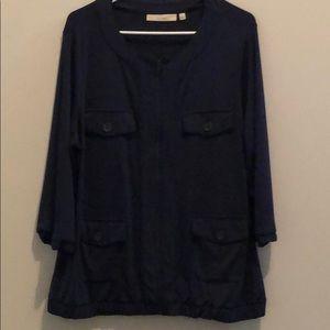 Navy Sejour jacket